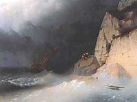The Shipwreck, 1865, aivazovsky