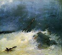 Storm at Sea, 1893, aivazovsky