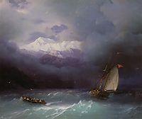Stormy Sea, 1868, aivazovsky