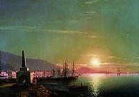 Sunrise in Feodosia, 1855, aivazovsky