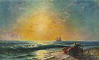 The Sunrize, 1874, aivazovsky