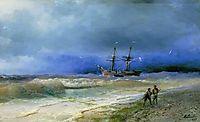 Surf, 1895, aivazovsky