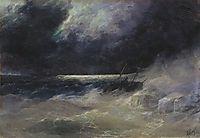 The Tempest , 1899, aivazovsky