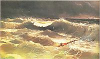 The Tempest , 1886, aivazovsky