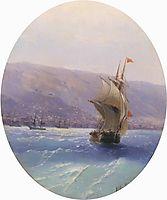 View of Crimea, 1851, aivazovsky