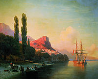 View of the Golden Horn, aivazovsky