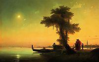 View on lagoon of Venice, 1841, aivazovsky