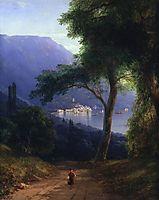 View from Livadia, 1861, aivazovsky