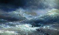 Wave, 1889, aivazovsky