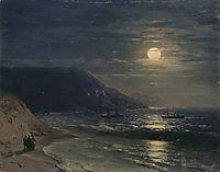 Yalta. The mountains at night, aivazovsky