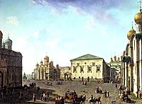 The Annunciation Cathedral and Faceted palace, c.1805, alekseyev