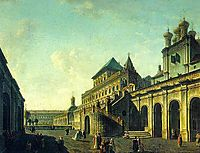 The Boyar-s Ground in the Moscow Kremlin, 1801, alekseyev