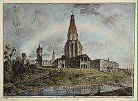 Kolomenskoe village, c.1805, alekseyev