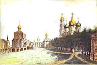 The Monastery of Trinity and St. Sergius, 1800, alekseyev