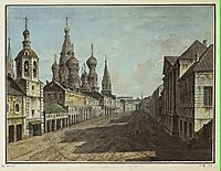 Moskvoretskaya Street, c.1805, alekseyev