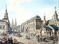 North side of Red Square, 1802, alekseyev
