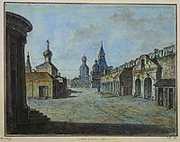 Novaya square, c.1805, alekseyev