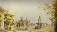 Town Square in Kherson, 1796, alekseyev