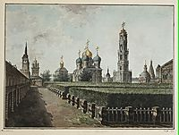 Trinity Lavra of St. Sergius, c.1805, alekseyev