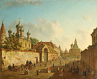 View of Lubyanka, c.1800, alekseyev
