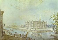 View of Saint Michael-s Castle, c.1800, alekseyev