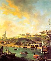 View of the town Mykolaiv, 1799, alekseyev