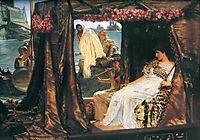 Antony and Cleopatra, 1883, almatadema