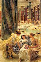 The Baths of Caracalla, 1899, almatadema