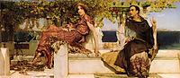 The Conversion Of Paula By Saint Jerome, 1898, almatadema