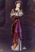 Dame Ellen Terry as Imogen Shakespeare heroine in Cymbeline, almatadema