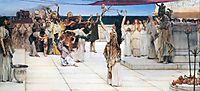 A Dedication to Bacchus, 1889, almatadema
