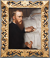 Dr. Washington Epps, My Doctor, 1885, almatadema
