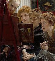A Family Group, 1896, almatadema