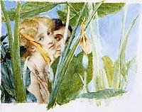 In Beauty s Bloom (unfinished), 1911, almatadema
