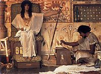 Joseph, Overseer of Pharaoh`s Graneries, 1874, almatadema
