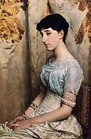 Miss Alice Lewis, 1884, almatadema