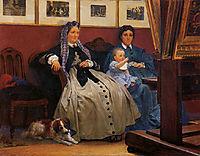 My Studio, 1867, almatadema