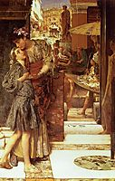 The Parting Kiss, 1882, almatadema