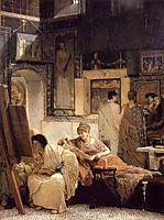 A Picture Gallery (Benjamin Constant), 1866, almatadema