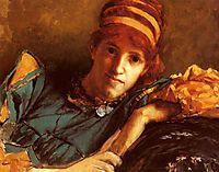 Portrait Of Miss Laura Theresa Epps, c.1871, almatadema