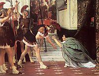 Proclaiming Claudius Emperor, 1867, almatadema