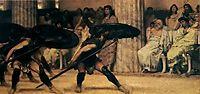 A Pyrrhic Dance, 1869, almatadema