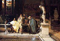 A Roman Art Lover, 1868, almatadema