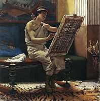 A Roman Artist, 1874, almatadema
