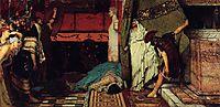 A Roman Emperor Claudius, 1871, almatadema