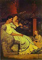 Roman Family, almatadema