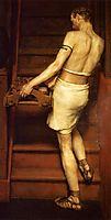 The Roman Potter, 1884, almatadema