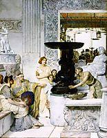 The Sculpture Gallery, 1874, almatadema