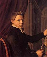Self-Portrait, 1852, almatadema