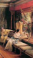 Vain Courtship, 1900, almatadema